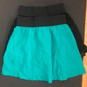 Forever 21  two summer skirt size XS